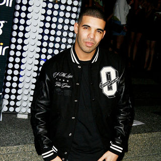 Drake in Bing's Celebration of Creative Minds After-Party
