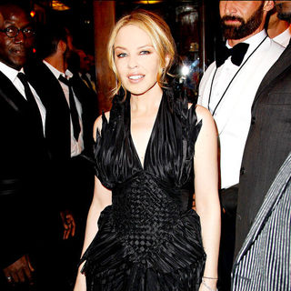 Kylie Minogue in AmfAR Inspiration Night - A Celebration of Men's Style - Auction and Dinner - Arrivals