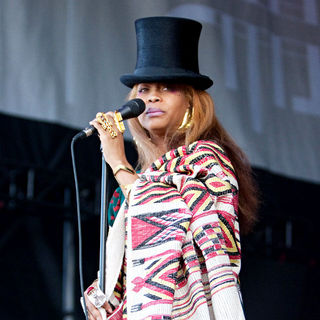 Erykah Badu in Lilith Fair 2010