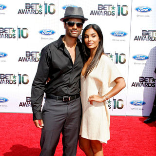 Eric Benet, Manuela Testolini in 2010 BET Awards