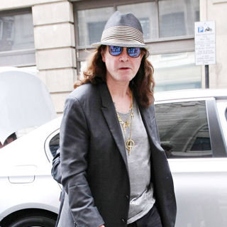 Ozzy Osbourne in Ozzy Osbourne Outside The BBC Radio 2 Studios