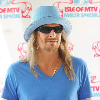 Kid Rock in Pre Concert Press Conference at The Isle of MTV Malta Special 2010