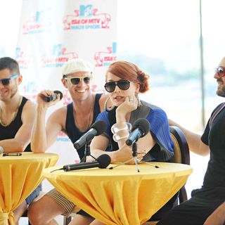 Scissor Sisters in The Pre Concert Press Conference at The Isle of MTV Malta Special 2010