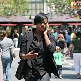 Fantasia Barrino in Fantasia Monique Barrino Goes Shopping
