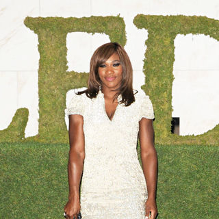 Serena Williams in The 2010 Wimbledon Gala Dinner