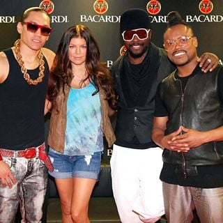 Black Eyed Peas in The Black Eyed Peas Attend SOMUSIC 2010 Whilst Visiting The City with Their 'The E.N.D. Tour'