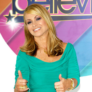 Anastacia in Photocall to Promote The Launch of The New Channel 5 Dance Show 'Don't Stop Believing'