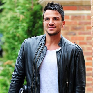 Peter Andre in Peter Andre Out and About in Surrey with His Laptop