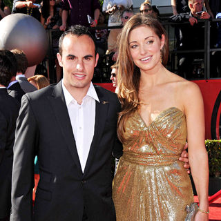 Landon Donovan, Bianca Kajlich in 2010 ESPY Awards - Arrivals