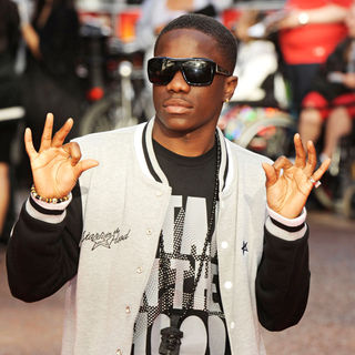 Tinchy Stryder in UK Film Premiere of Karate Kid - Arrivals