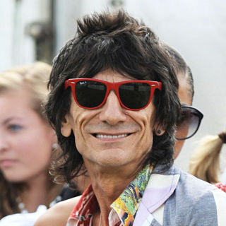 Ronnie Wood in Ronnie Wood During The Asprey World Class Cup