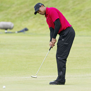 Tiger Woods in The British Open Golf Championship - Day 4