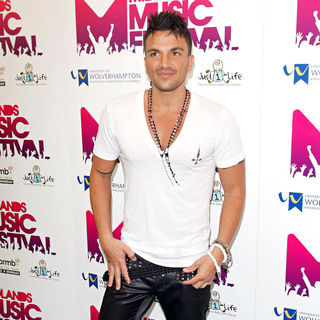 Peter Andre in Midlands Music Festival