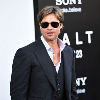Brad Pitt in The L.A. Movie Premiere of 'Salt' - Arrivals