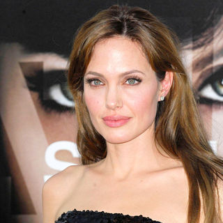 Angelina Jolie in The L.A. Movie Premiere of 'Salt' - Arrivals