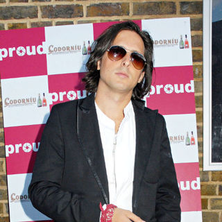 Carl Barat in Carl Barat Leaving The Six Shooters Photography Exhibition