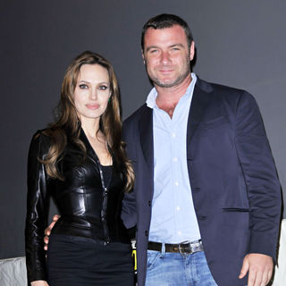 Angelina Jolie, Liev Schreiber in Promoting The New Film 'Salt' at Comic Con 2010