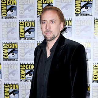 Nicolas Cage in Comic Con 2010 - Day 2 - 'Drive Angry' Photocall