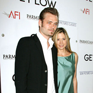 Christopher Backus, Mira Sorvino in Los Angeles Premiere of 'Get Low'