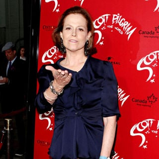 Sigourney Weaver in 'Scott Pilgrim vs. the World' Los Angeles Premiere