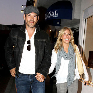 LeAnn Rimes and Eddie Cibrian Leave Nobu Restaurant in Malibu