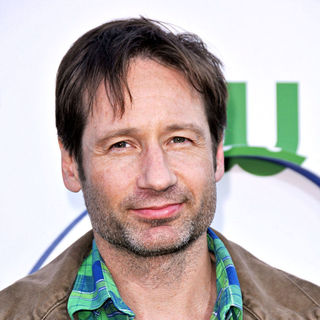 David Duchovny in 2010 CBS, CW, Showtime Summer Press Tour Party