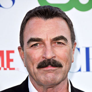 Tom Selleck in 2010 CBS, CW, Showtime Summer Press Tour Party
