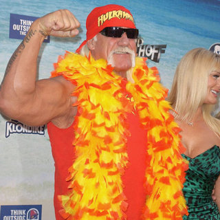 Hulk Hogan in Comedy Central Roast Of David Hasselhoff - Arrivals