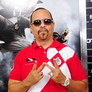 Ice-T in The NY Movie Premiere of 'The Other Guys'
