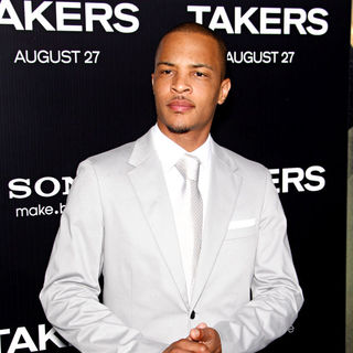 T.I. in Los Angeles Premiere of 'Takers' - Arrivals
