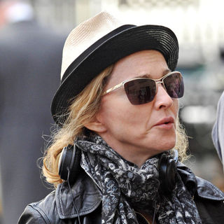 Madonna Takes A Directing Role on The Set of Film About Wallis Simpson