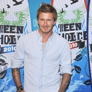 David Beckham in The 12th Annual Teen Choice Awards 2010