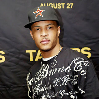 T.I. in Screening of 'Takers'