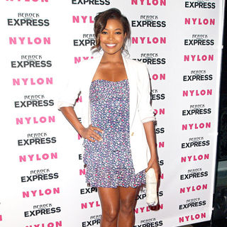 Gabrielle Union in Nylon + Express August Denim Issue Party - Arrivals