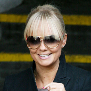 Emma Bunton in Emma Bunton Outside The ITV Studios
