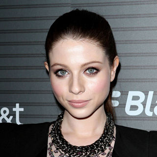 Michelle Trachtenberg in Blackberry Torch From AT&T U.S. Launch Party - Arrivals