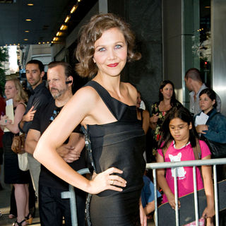 Maggie Gyllenhaal in New York Premiere of 'Nanny McPhee Returns'
