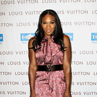 Serena Williams in Opening of Louis Vuitton Santa Monica to Benefit Heal The Bay