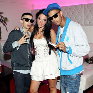 N-Dubz Partying in The Irish Capital