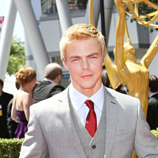 Derek Hough in 2010 Creative Arts Emmy Awards - Arrivals