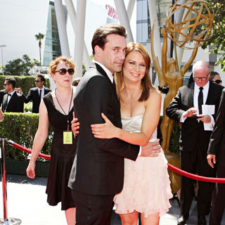 Jon Hamm, Mary Lynn Rajskub in 2010 Creative Arts Emmy Awards - Arrivals