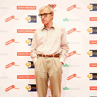 Woody Allen in 'You Will Meet a Tall Dark Stranger' Photocall