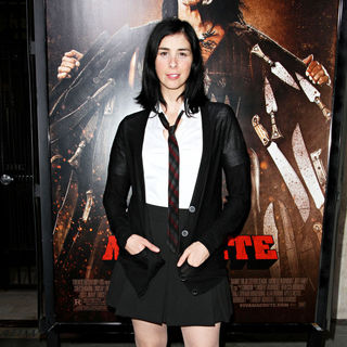 Sarah Silverman in The LA Premiere of 'Machete'