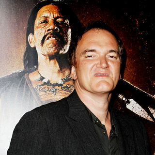 Quentin Tarantino in The LA Premiere of 'Machete'