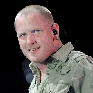 Corey Taylor in Stone Sour Performing on Stage During The 'Rockstar Energy Drink UPROAR Festival'