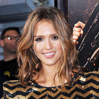 Jessica Alba in The LA Premiere of 'Machete'