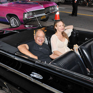 Cheech Marin, Natasha Rubin in The LA Premiere of 'Machete'