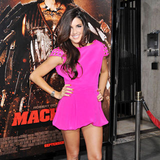 Electra Avellan in The LA Premiere of 'Machete'