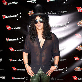 Slash - Virgin America Presents 'Third Annual Sunset Strip Music Fetival Official Party' - Arrivals