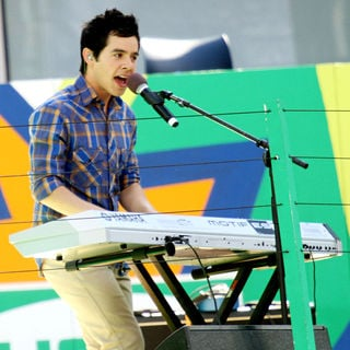 David Archuleta in 2010 US Open Arthur Ashe Kids Day